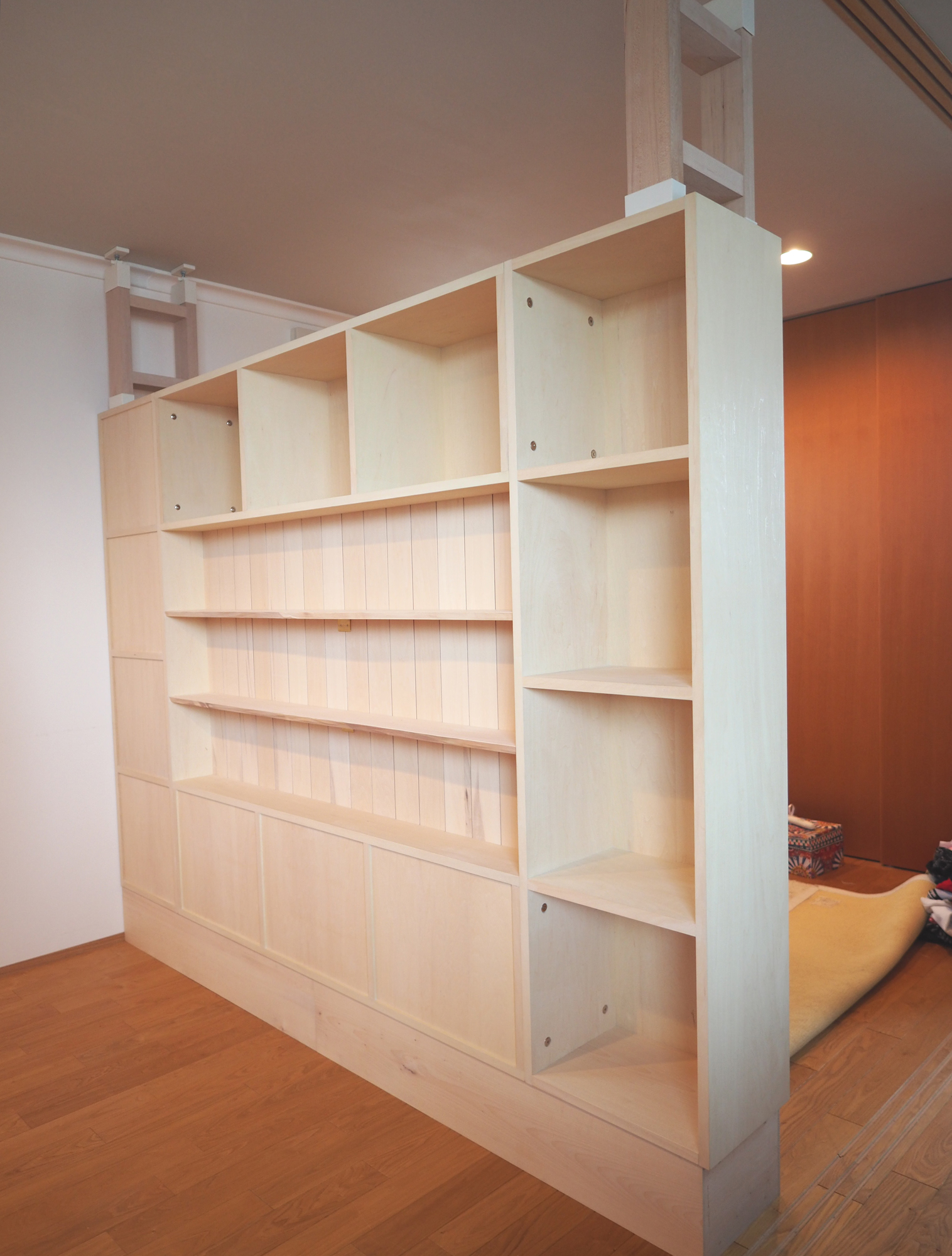 子供部屋 仕切り方 収納家具