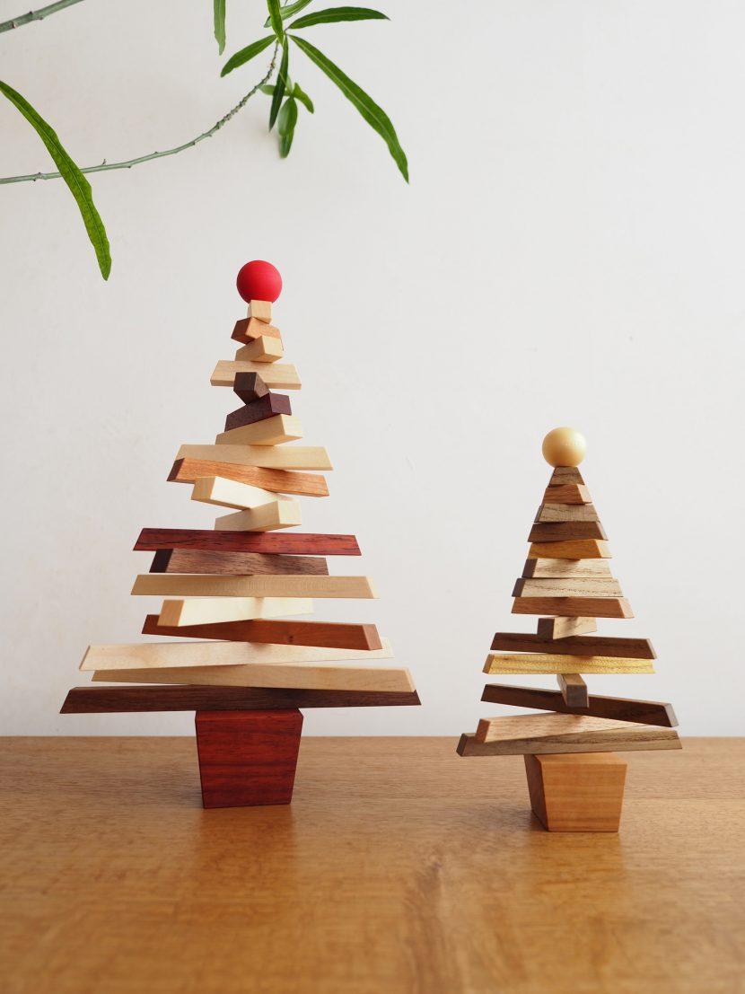 木 クリスマスツリー 木製