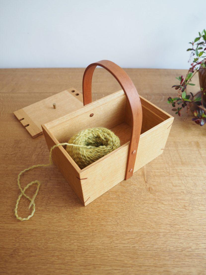 編み物 毛糸 道具 かご ニットボール