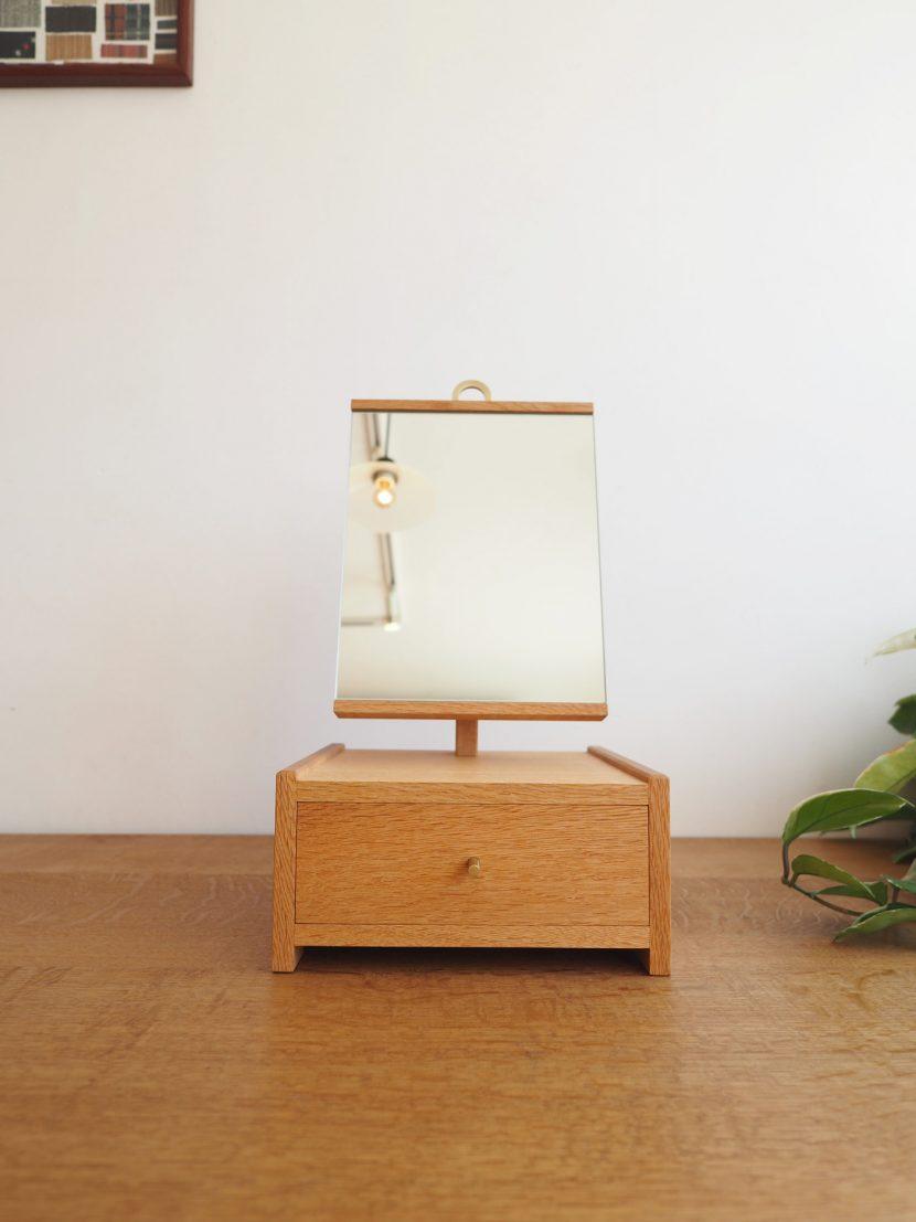 卓上鏡 スタンドミラー 卓上ミラー 化粧鏡